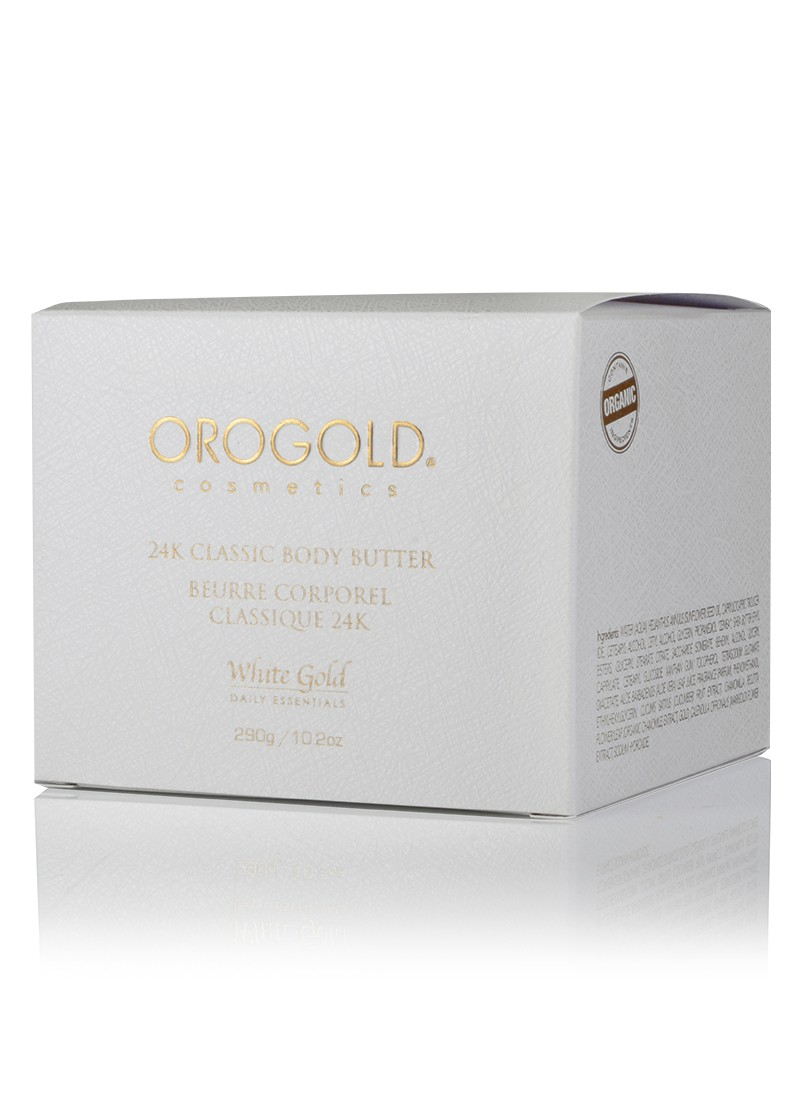 Orogold 24K Classic Body Butter Package