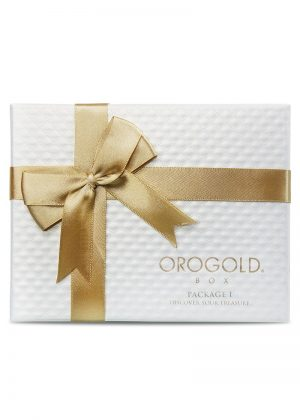 Orogold package 1 box closed