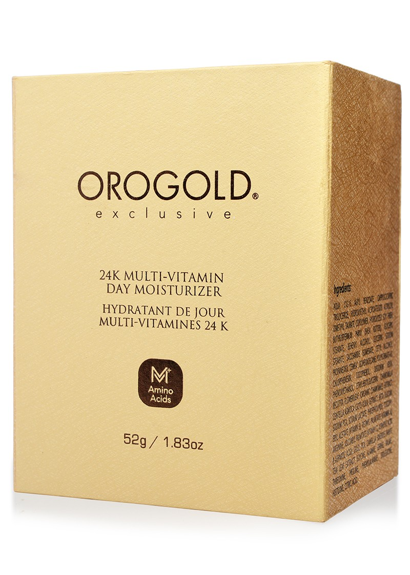 Orogold 24K Multi-Vitamin Day Moisturizer box