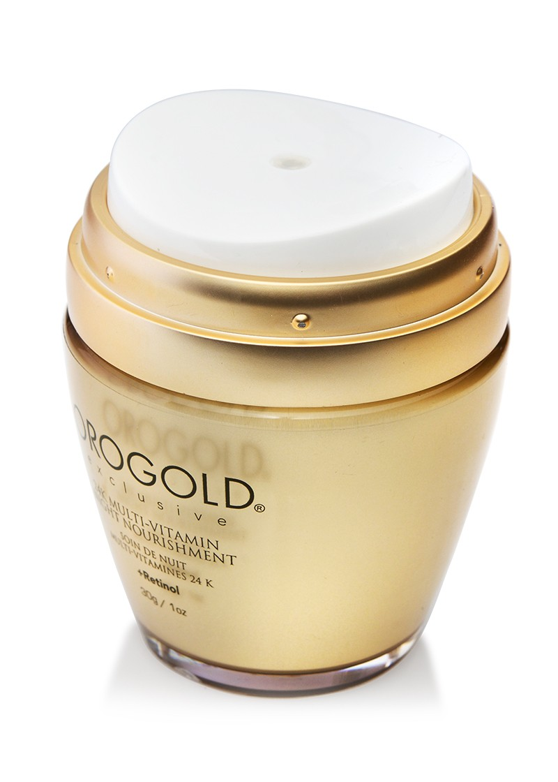 Orogold 24K multi-vitamin night nourishment open