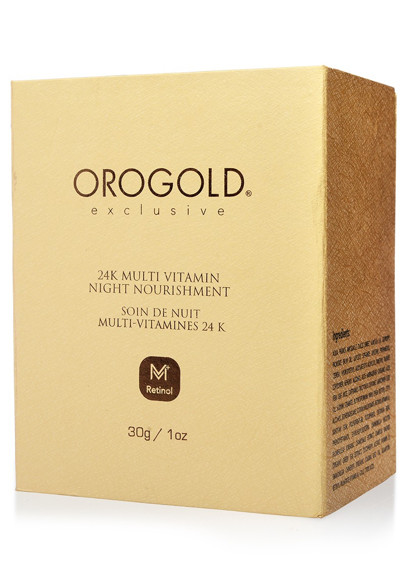Orogold 24K Multi Vitamin Night Nourishment Box