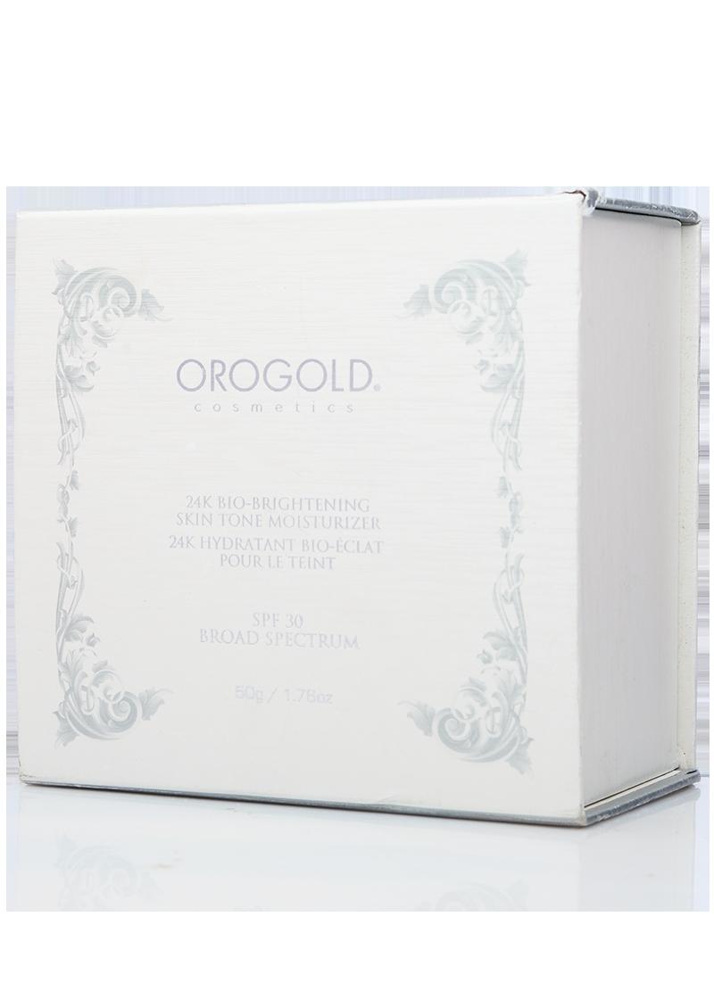 OROGOLD 24K Bio-Brightening Skin Tone Moisturizer SPF 30