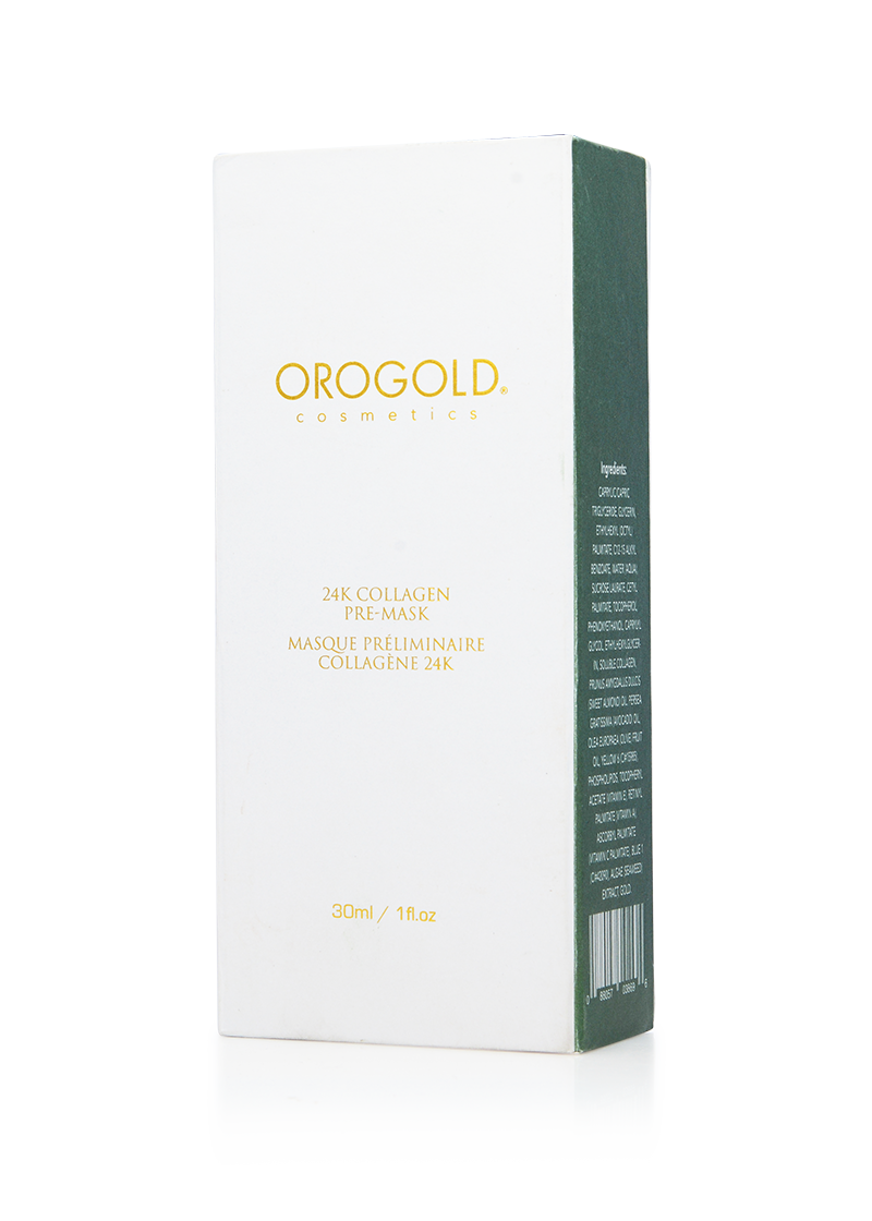OROGOLD 24K Collagen Pre-Mask front of box