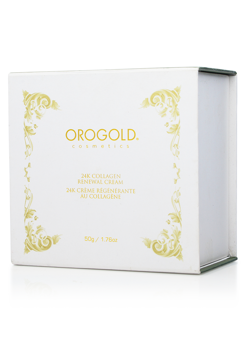 OROGOLD 24K Collagen Renewal Cream closed box
