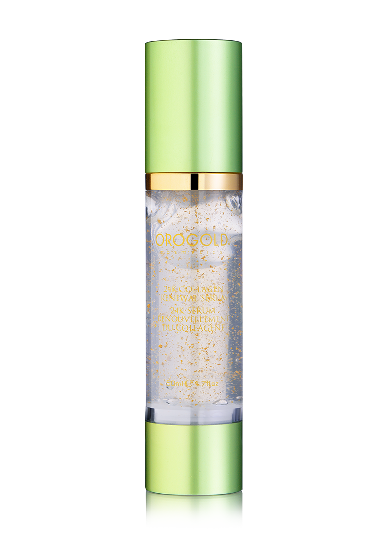 OROGOLD 24K Collagen Renewal Serum closed lid