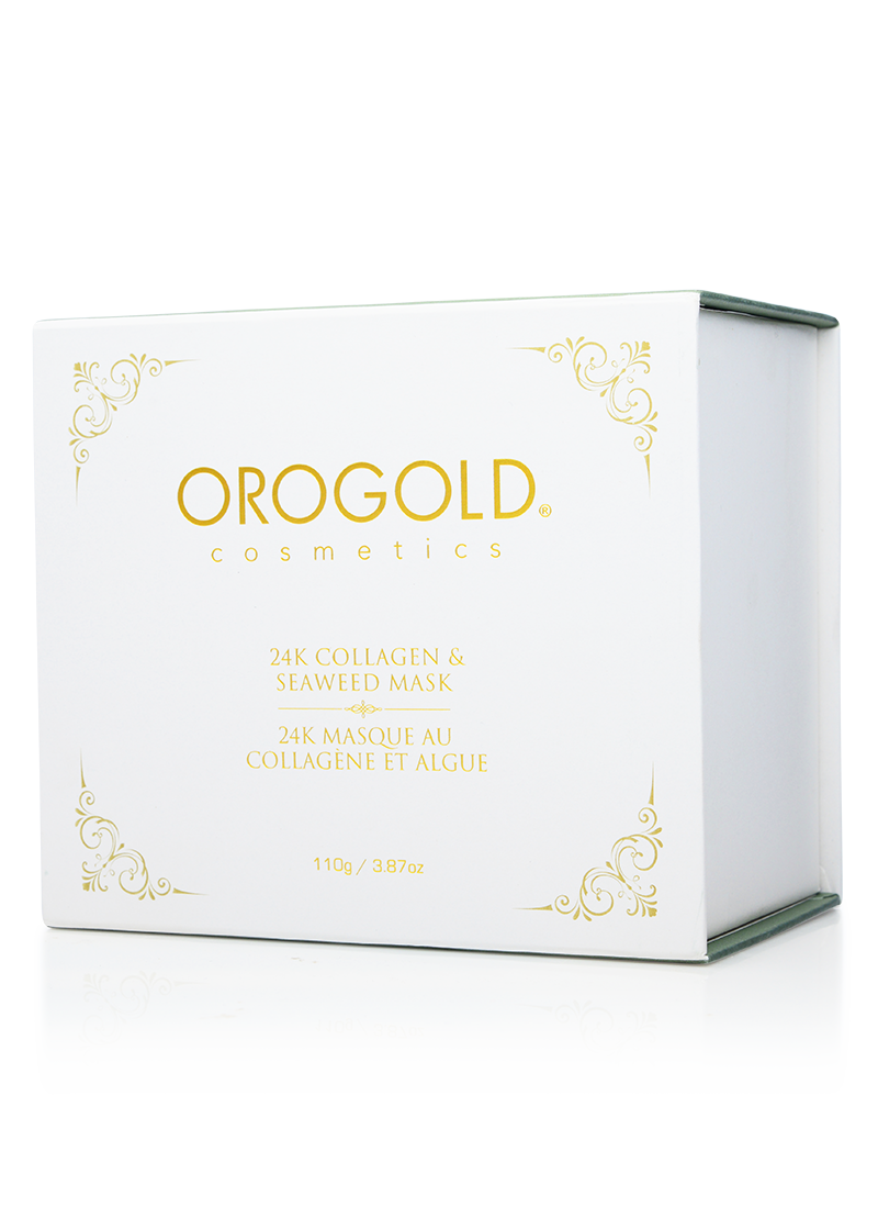 OROGOLD 24K Collagen and Seaeweed Mask-4