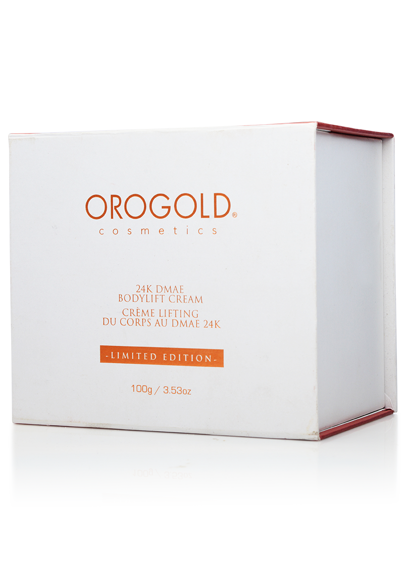 OROGOLD 24K DMAE Bodylift Cream box