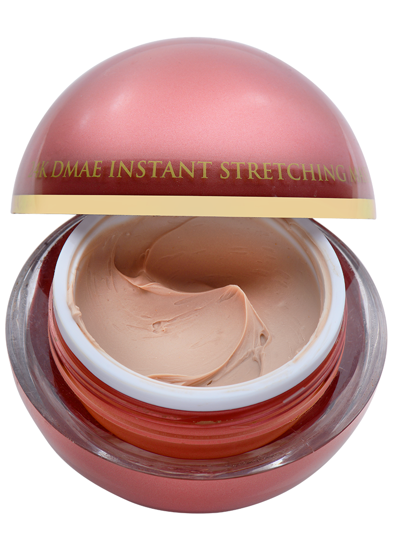 OROGOLD 24K DMAE Instant Stretching Mask open mask