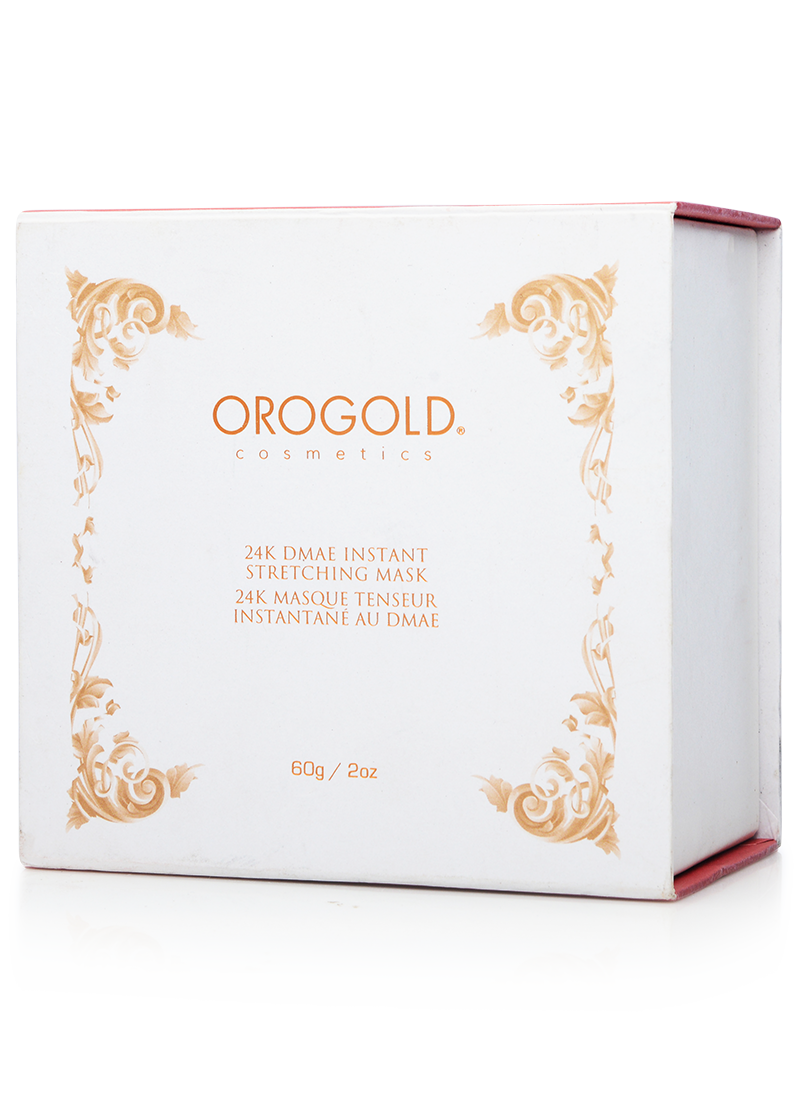 OROGOLD 24K DMAE Instant Stretching Mask box