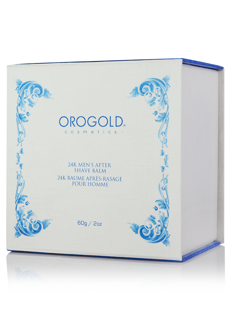 OROGOLD 24K Mens After Shave Balm box