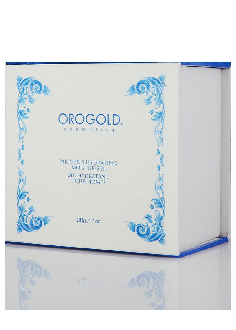 OROGOLD 24K Mens Hydrating Moisturizer box