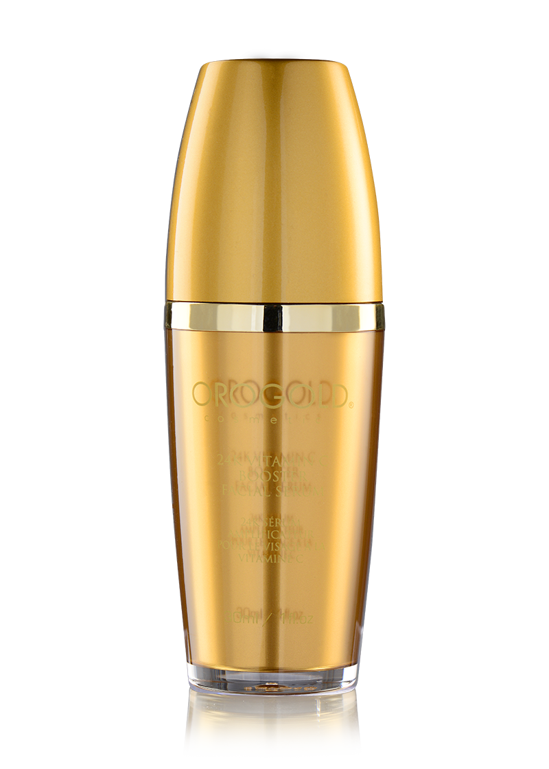 OROGOLD 24K Vitamin C Booster Facial Serum closed lid
