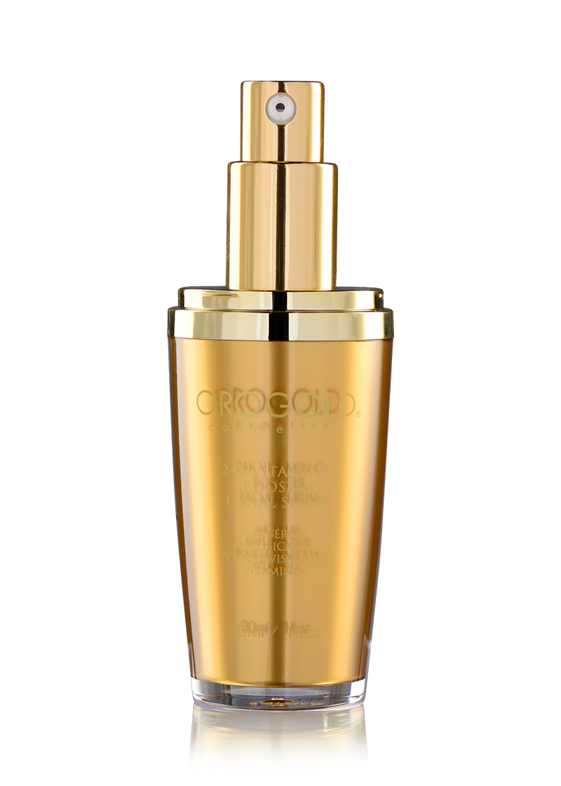 OROGOLD 24K Vitamin C Booster Facial Serum open