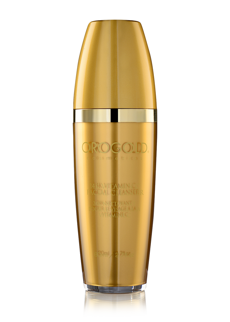 OROGOLD 24K Vitamin C Facial Cleanser closed lid