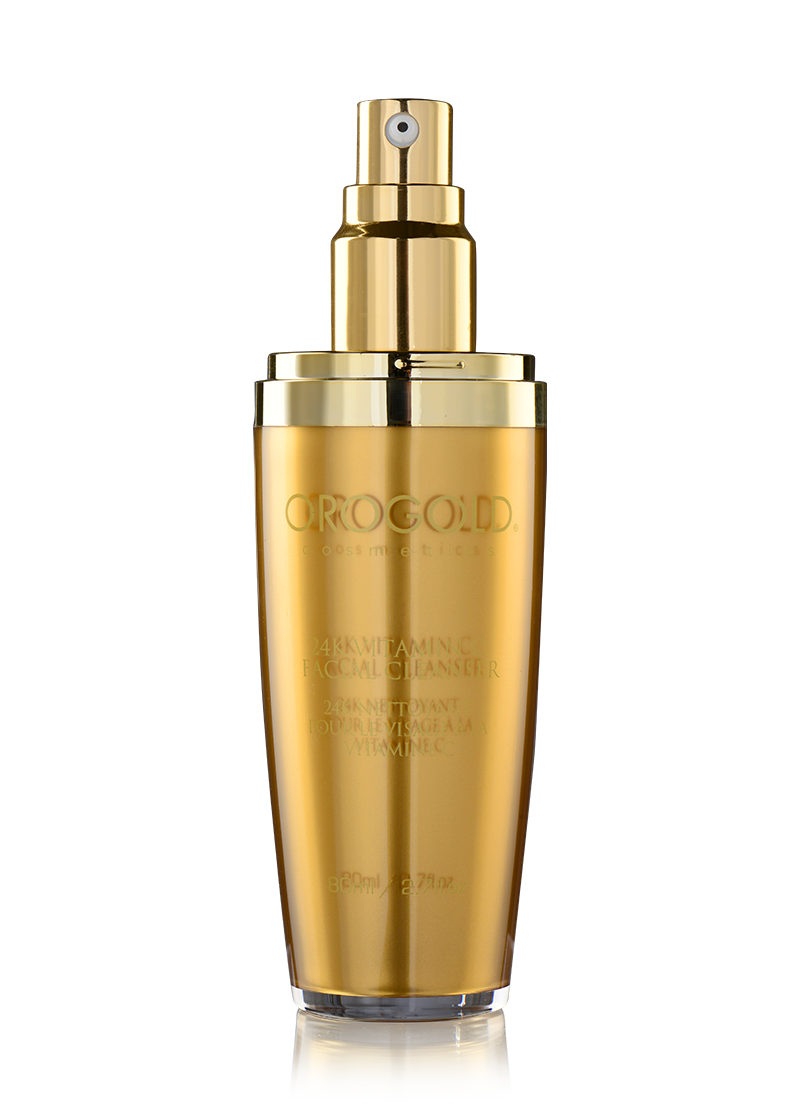 OROGOLD 24K Vitamin C Facial Cleanser open
