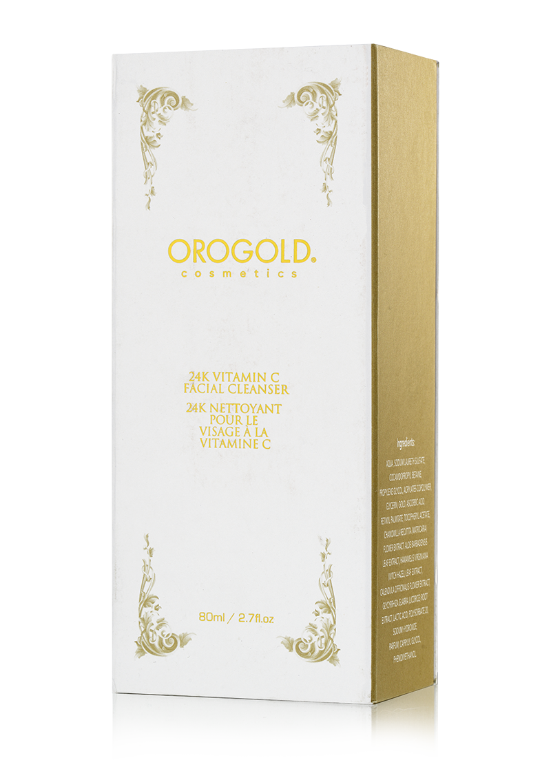 OROGOLD 24K Vitamin C Facial Cleanser box