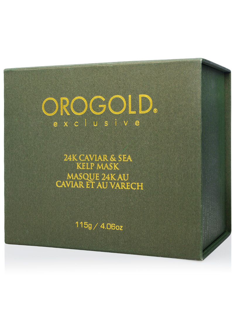 OROGOLD Exclusive 24K Caviar & Sea Kelp Mask box