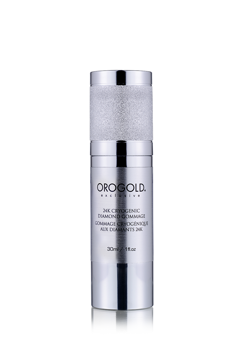 OROGOLD Exclusive 24K Cryogenic Diamond Gommage-