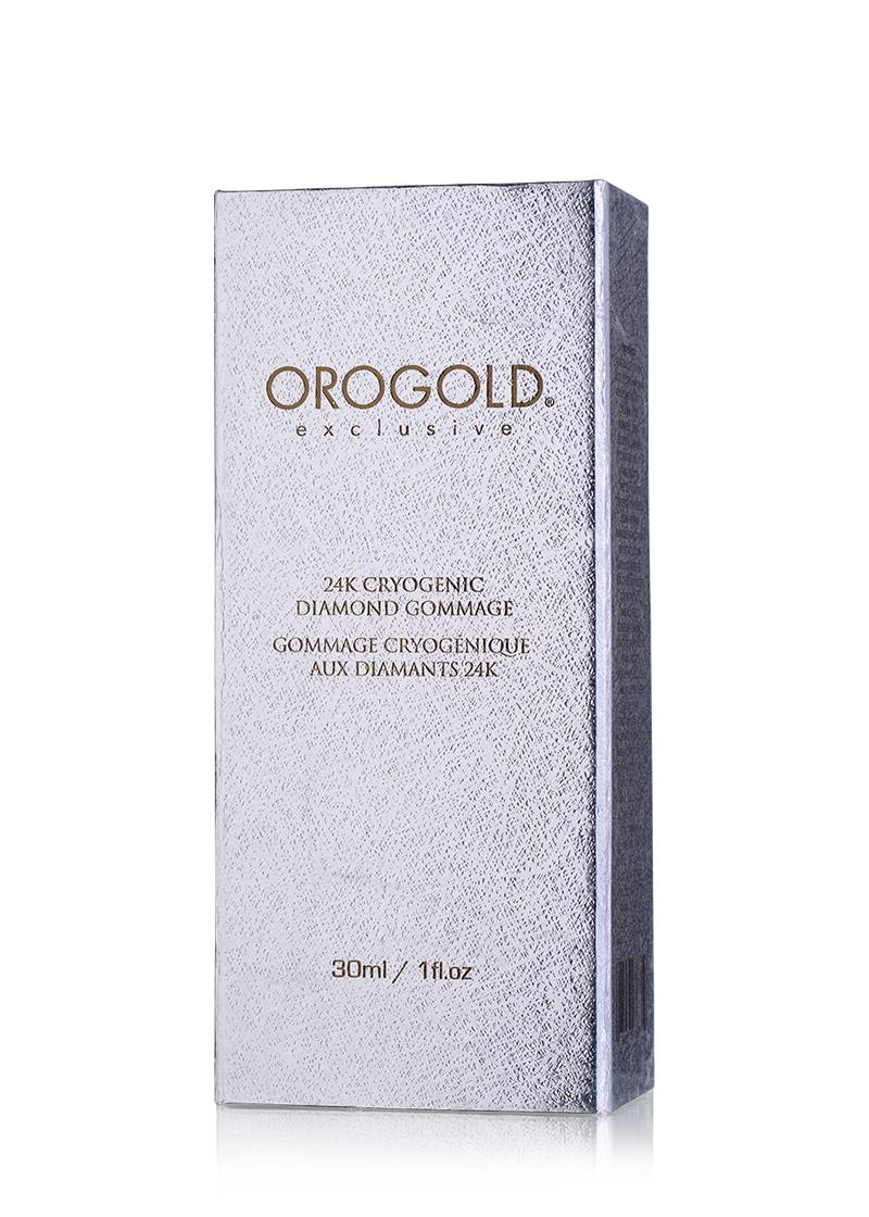 OROGOLD Exclusive 24K Cryogenic Diamond Gommage