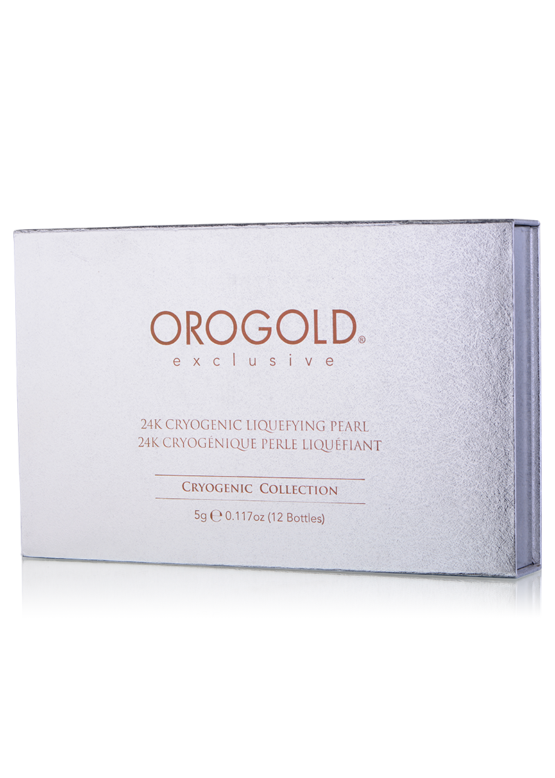 OROGOLD Exclusive 24K Cryogenic Liquefying Pearl box