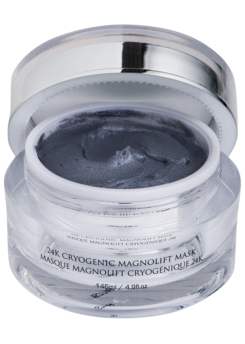 OROGOLD Exclusive 24K Cryogenic Magnolift Mask open