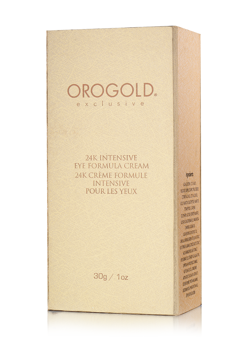 OROGOLD Exclusive 24K Intensive Eye Formula Cream box