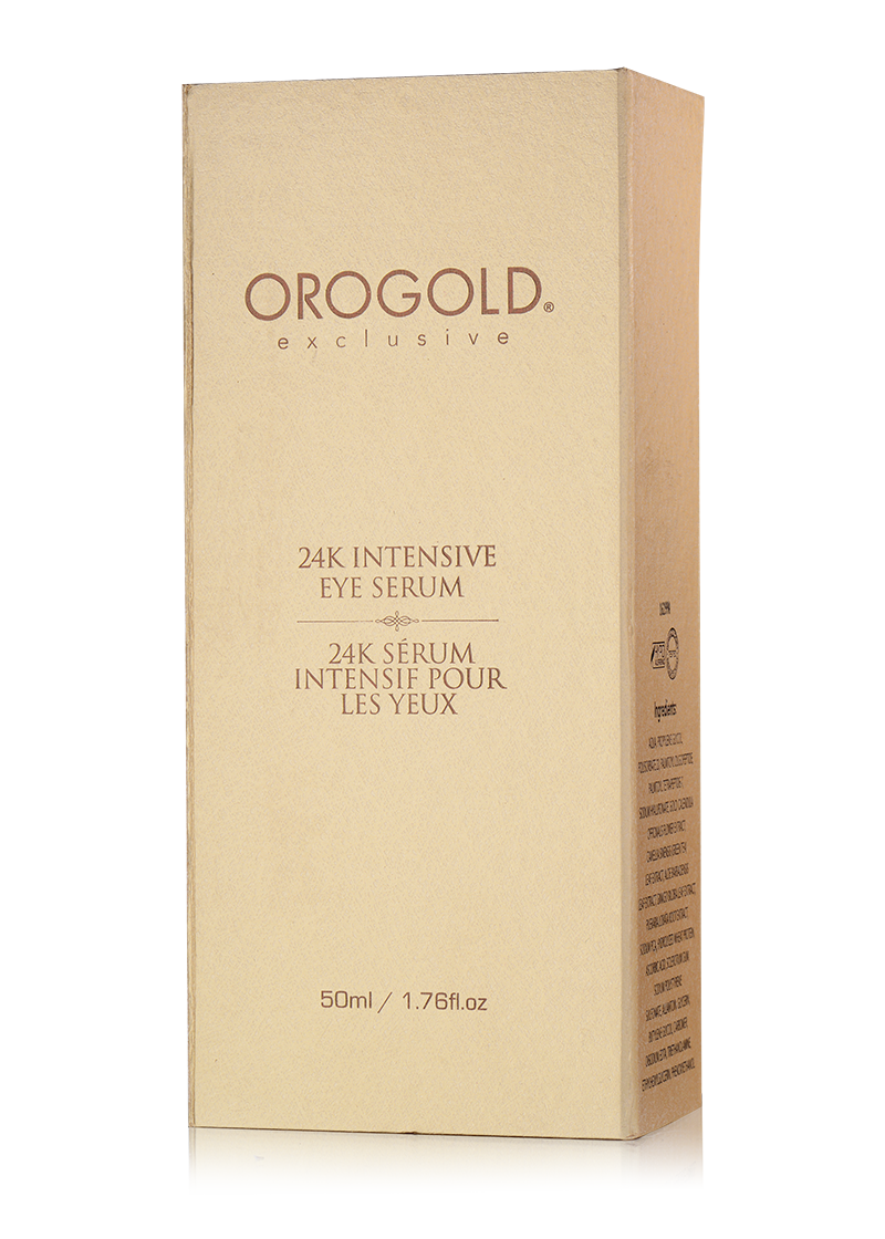 OROGOLD Exclusive 24K Intensive Eye Serum box