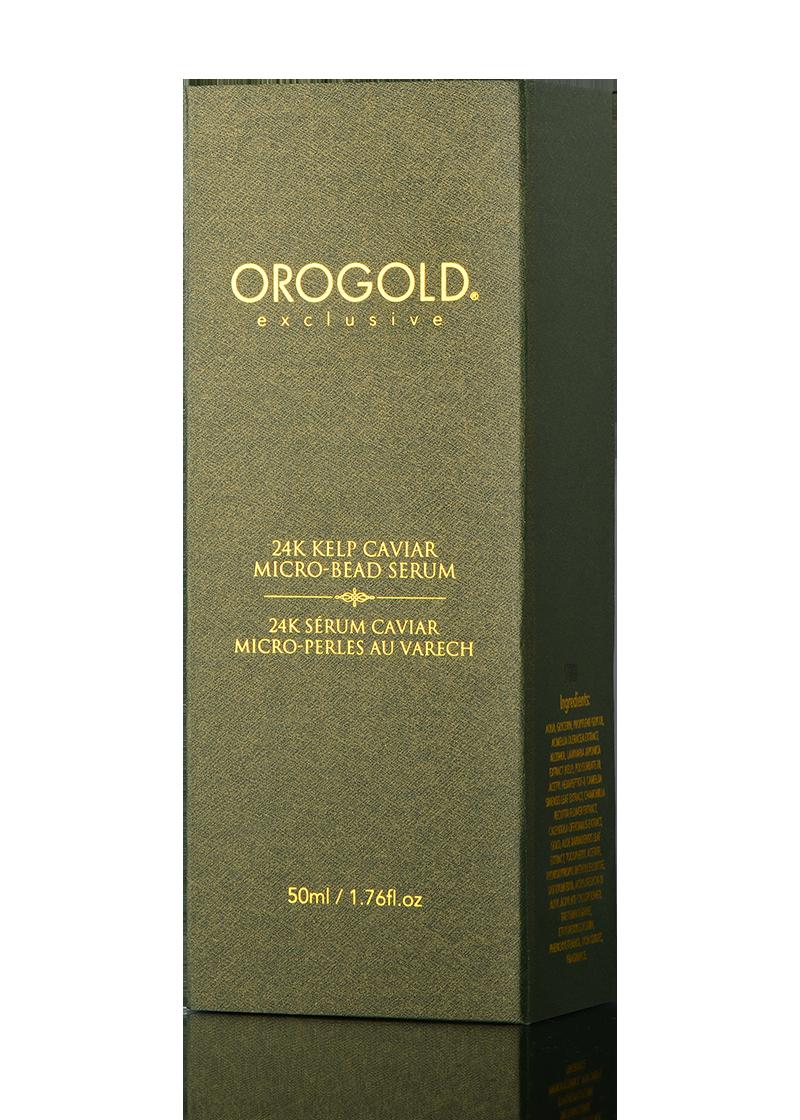 OROGOLD Exclusive 24K Kelp Caviar Micro-Bead Serum