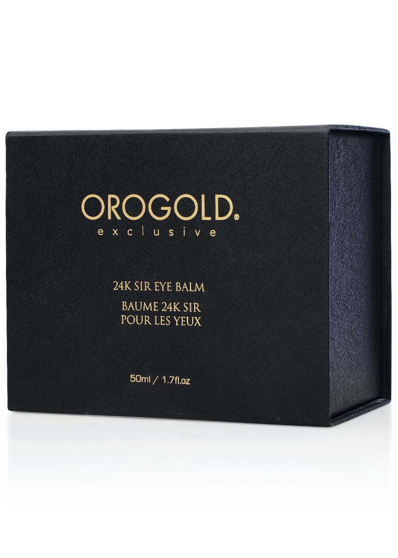 OROGOLD Exclusive 24K Sir Eye Balm box