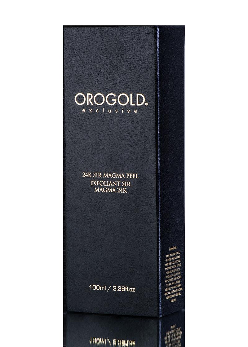 OROGOLD Exclusive 24K Sir Magma Peel box