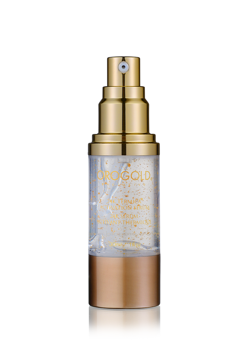 OROGOLD Exclusive 24K Termica Activation Serum open