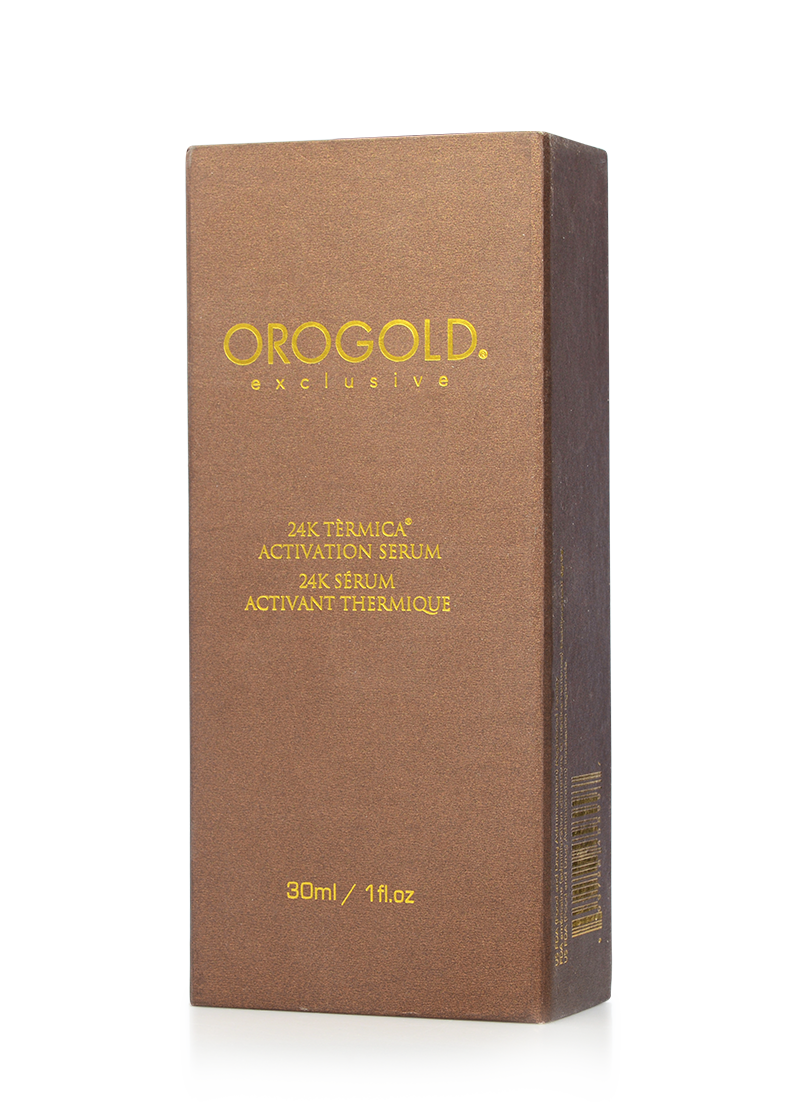 OROGOLD Exclusive 24K Termica Activation Serum box