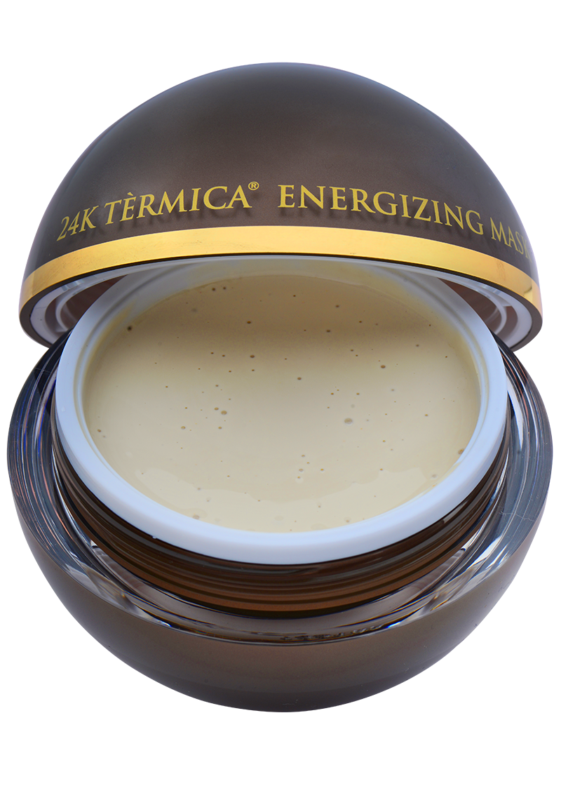 OROGOLD Exclusive 24K Termica Energizing mask open front