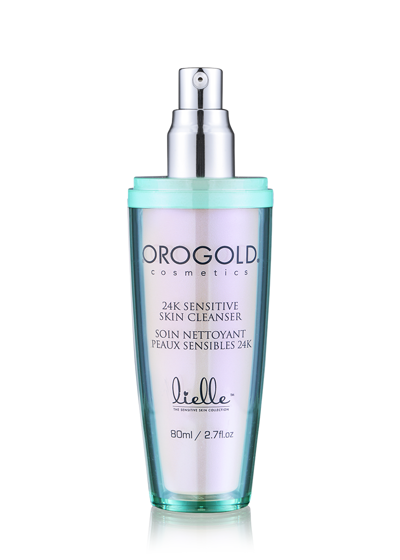 OROGOLD Lielle 24K Sensitive Skin Cleanser open