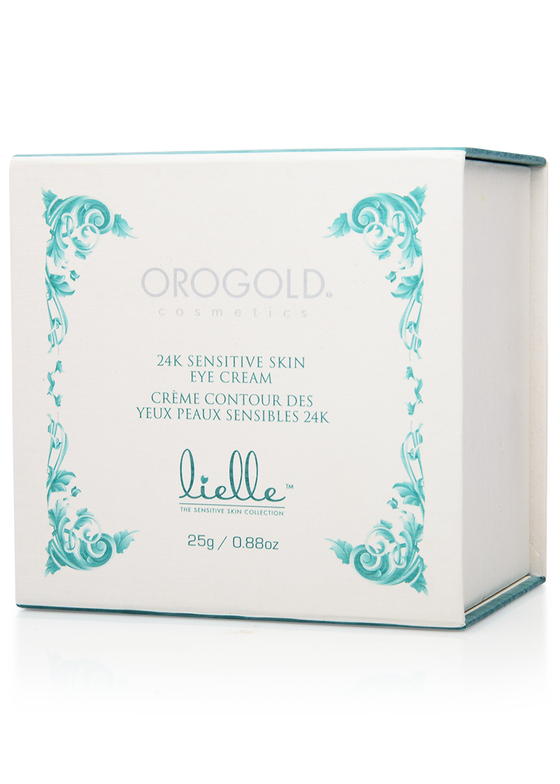 OROGOLD Lielle 24K Sensitive Skin Eye Cream box