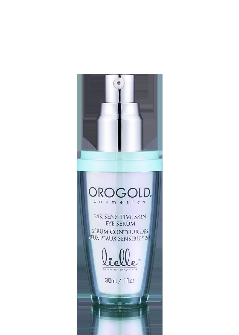 OROGOLD Lielle 24K Sensitive Skin Eye Serum open