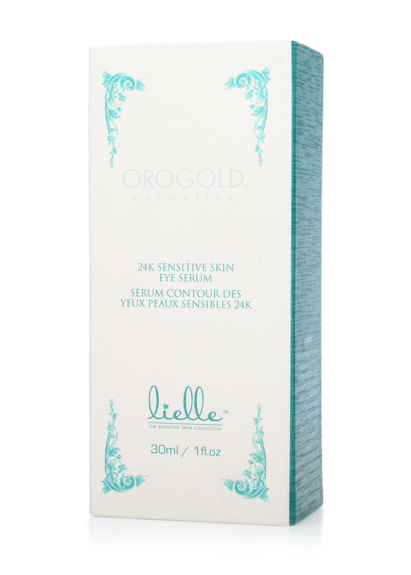 OROGOLD Lielle 24K Sensitive Skin Eye Serum box