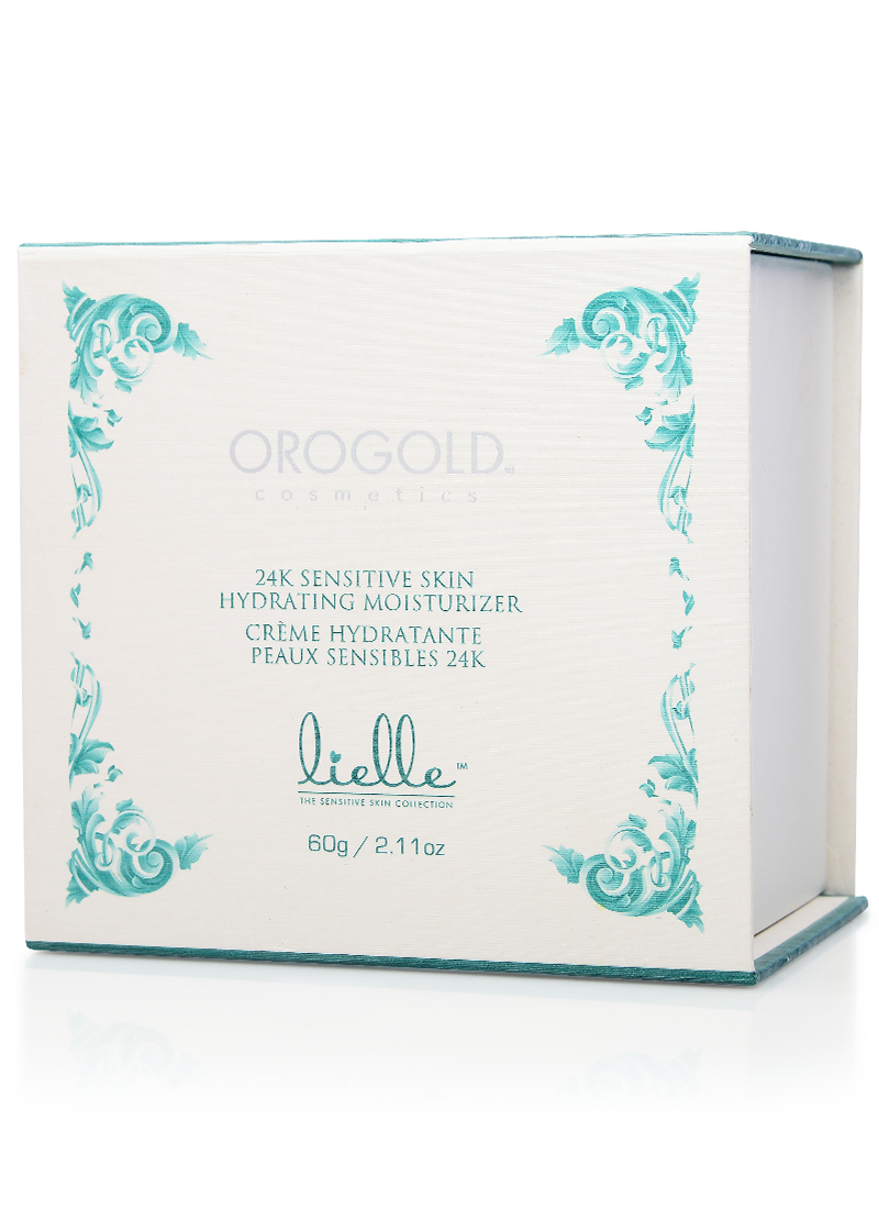 OROGOLD Lielle 24K Sensitive Skin Hydrating Moisturizer box