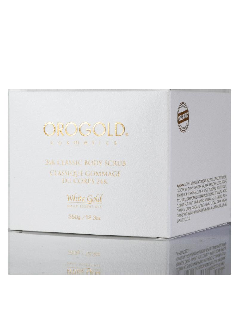 OROGOLD White Gold 24K Classic Body Scrub box