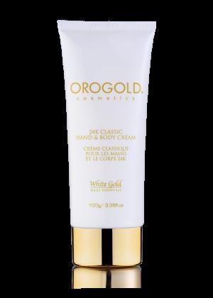 OROGOLD White Gold 24K Classic Hand and Body Cream