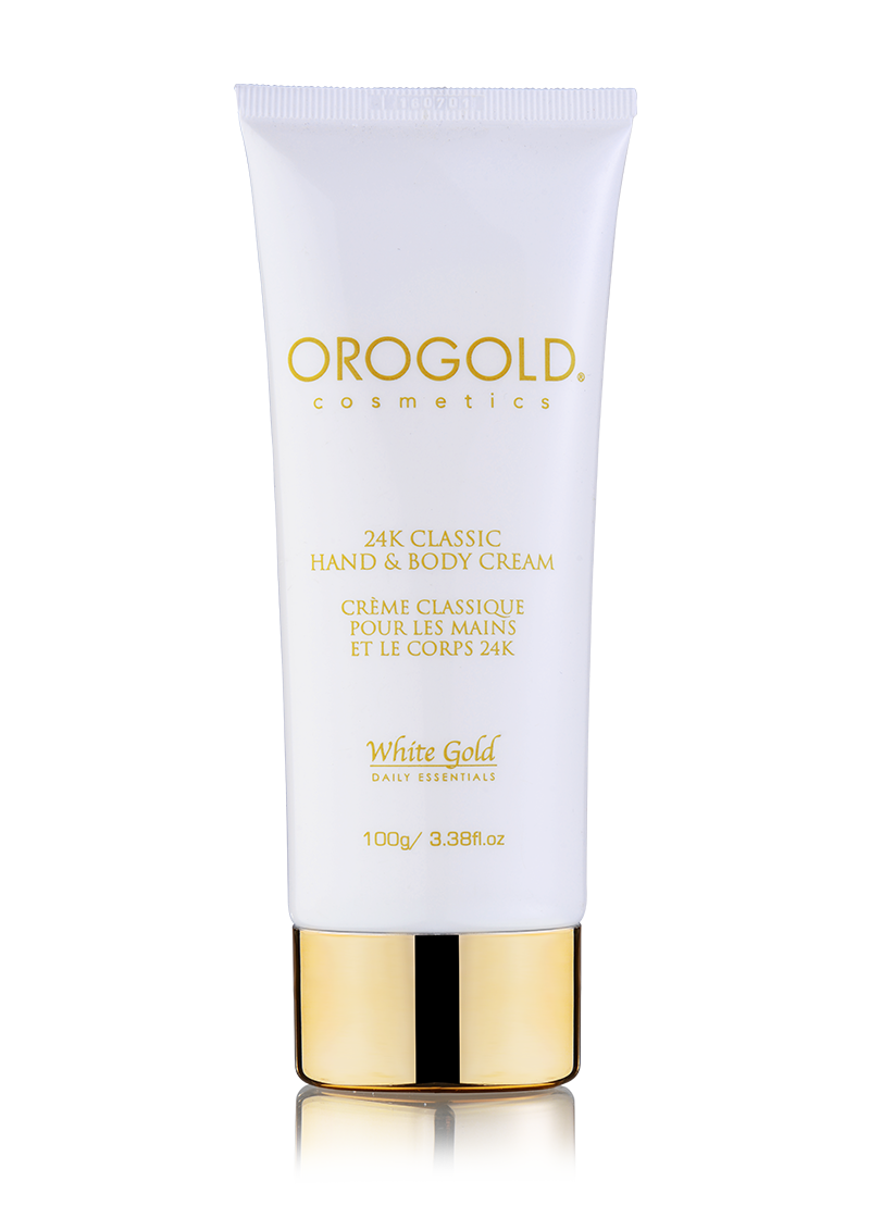 OROGOLD White Gold 24K Classic Hand and Body Cream