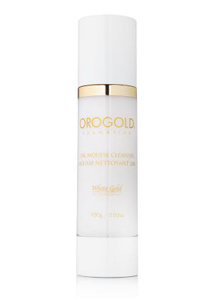 OROGOLD White Gold 24K Mousse Cleanser