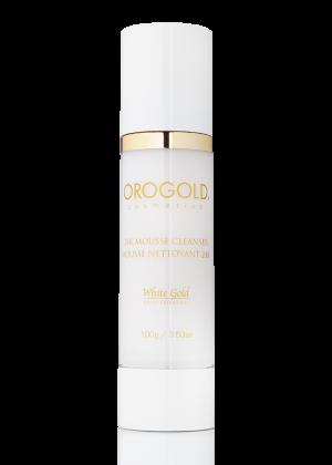 OROGOLD White Gold 24K Mousse Cleanser