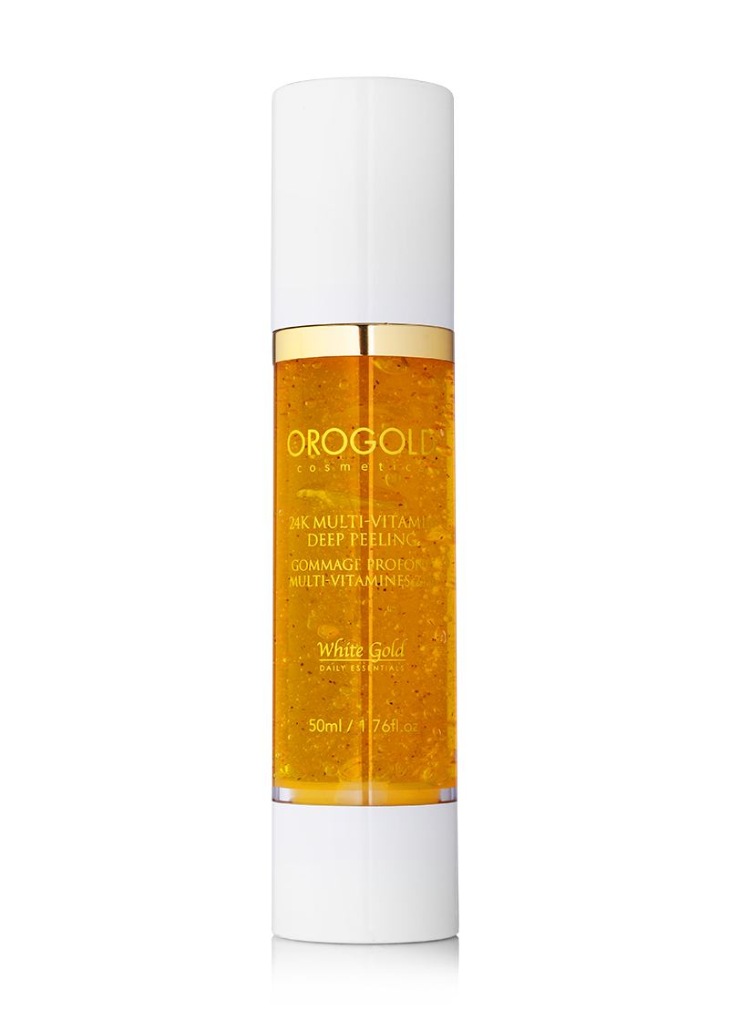 OROGOLD White Gold 24K Multi-Vitamin Deep Peeling