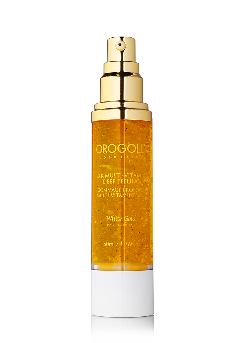 OROGOLD White Gold 24K Multi-Vitamin Deep Peeling open