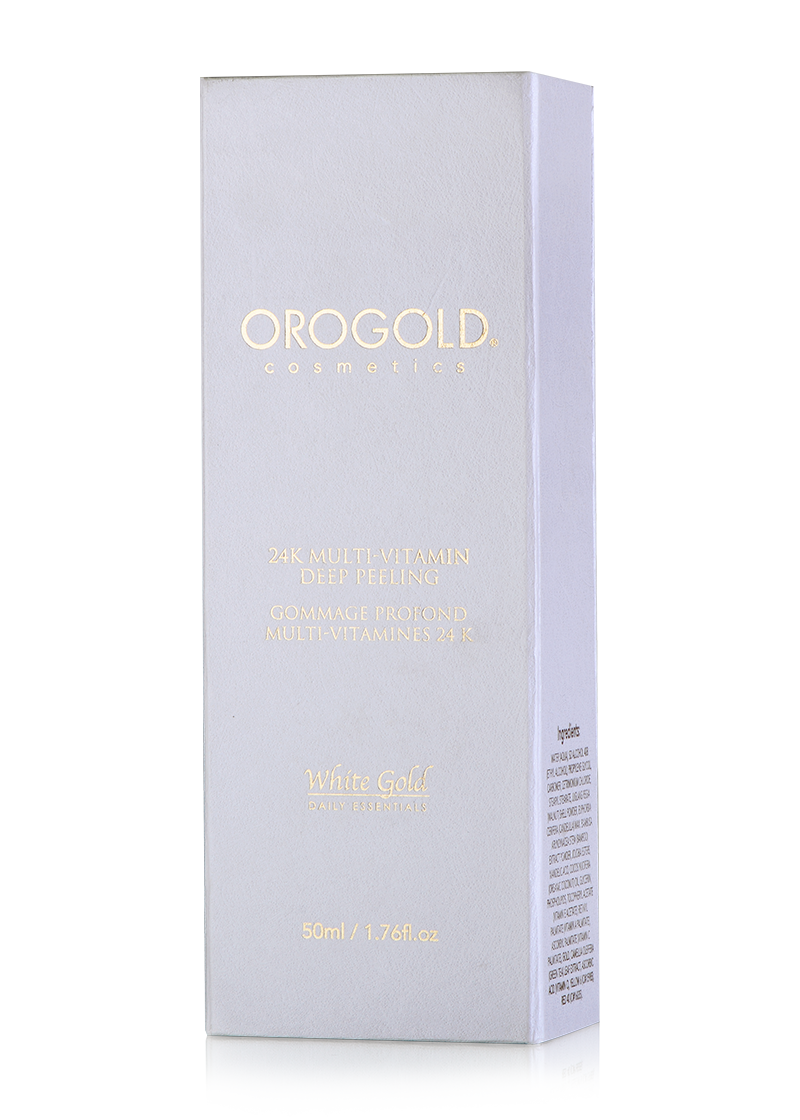 OROGOLD White Gold 24K Multi-Vitamin Deep Peeling box