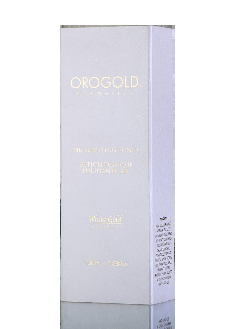 OROGOLD White Gold 24K Purifying Toner