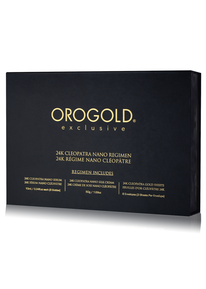 Orogold Exclusive 24K Cleopatra Nano Regimen Collection