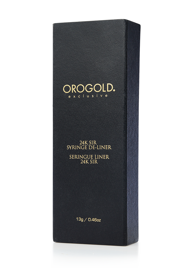 Orogold Exclusive 24K Sir Syringe De_liner box