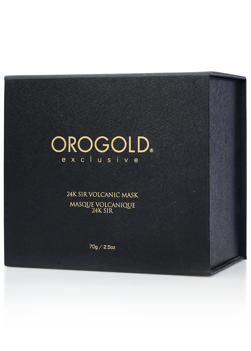 Orogold Exclusive 24K Sir Volcanic Mask box